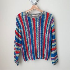 NWT Urban Outfitters open knit crewneck sweater
